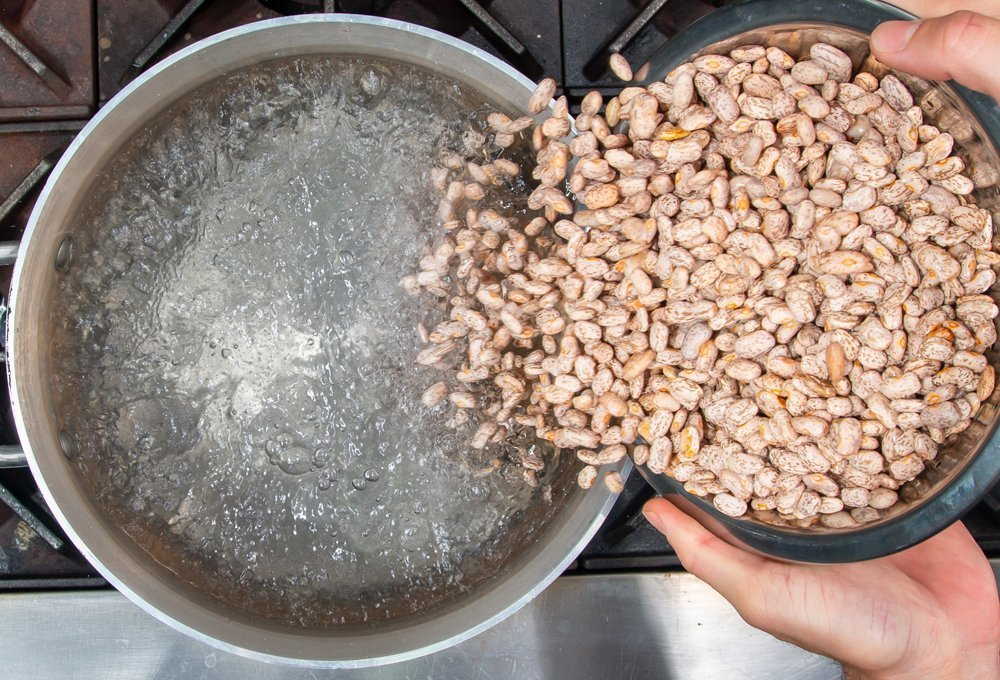 Picture of Juan Pollo's Slow Cooked Pinto Beans.