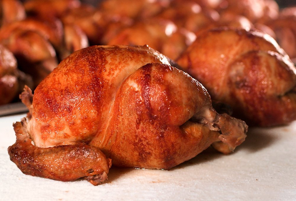 Picture of Juan Pollo's  Slow Roasted Chicken.