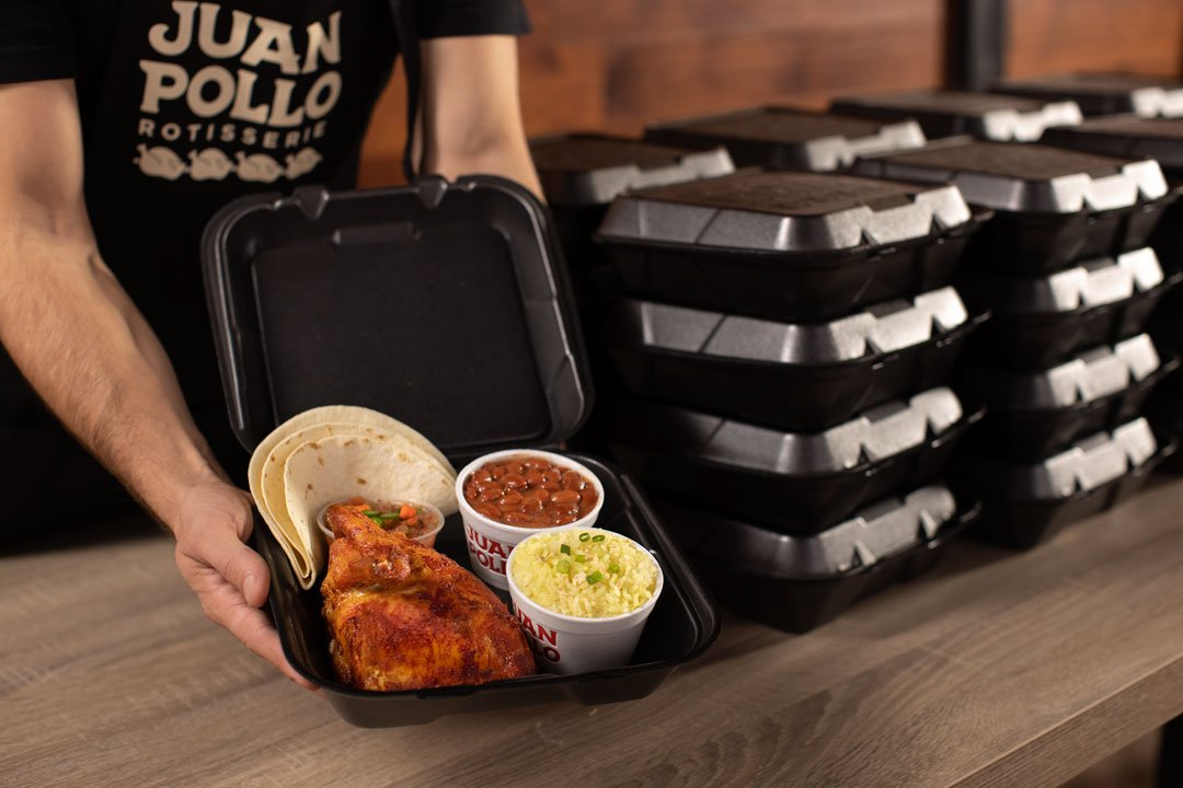 Juan Pollo - Catering Individually Boxed