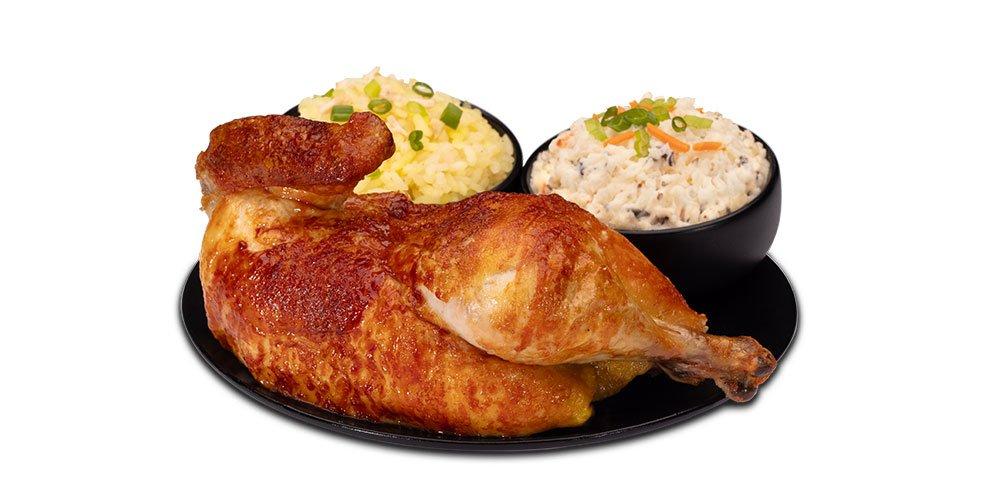 Juan Pollo - Menu - Half Chicken Meal