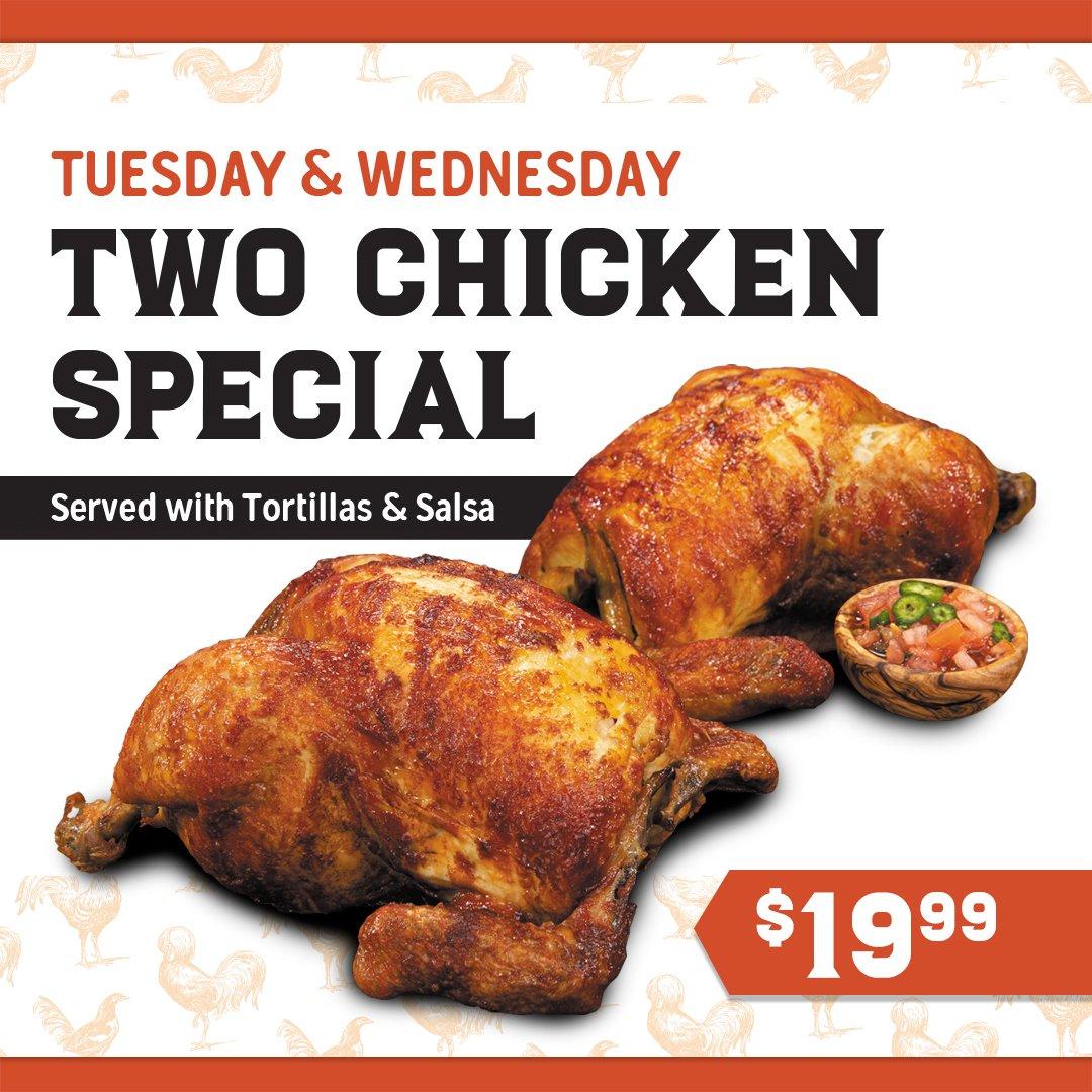 Juan Pollo - Two Chicken Special